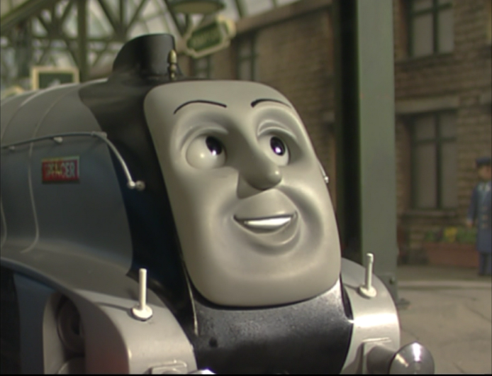 Spencer the Silver Engine