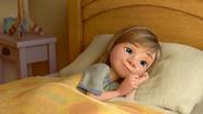 Riley in bed