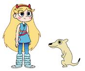 Star meets Black-Tailed Prairie Dog