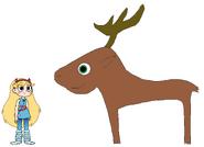 Star meets Caribou