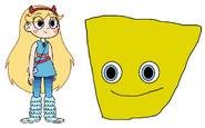 Star meets Sea Sponge