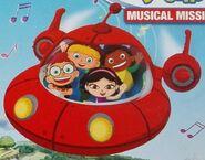 Leo, June, Quincy, Annie and Rocket (Little Einsteins)