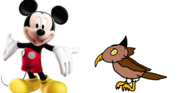 Mickey Mouse Owl