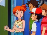 Misty sneaks in 5