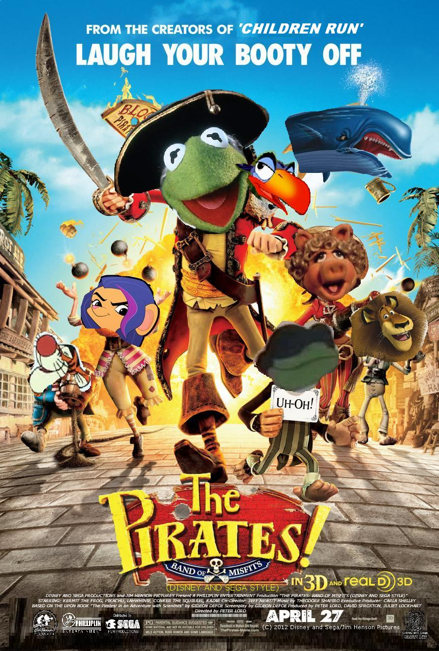 The Pirates Band Of Misfits Disney And Sega Style The Parody Wiki Fandom
