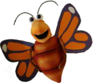 Bubbles the Butterfly