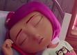 Chloe sleeping