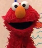 Elmo in Hair