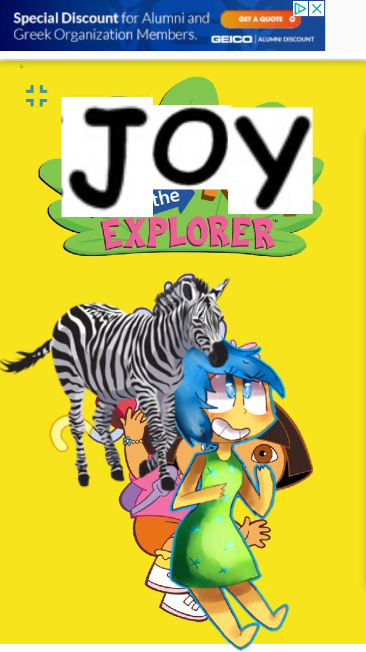 Joy the Explorer (NatureRules1 and GavenLovesAnimals Style)
