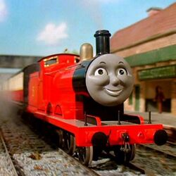 James the red engine as Mark Charger McCutchen.jpg