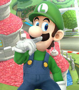 Luigi in Super Smash Bros. for Wii-U and 3DS