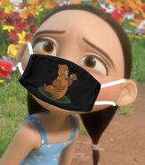 Nina Lopez Wearing Face Mask