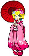 Peach in Japanese attire KCMEX2009