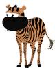 Sandy Cheeks as a Zebra Pose