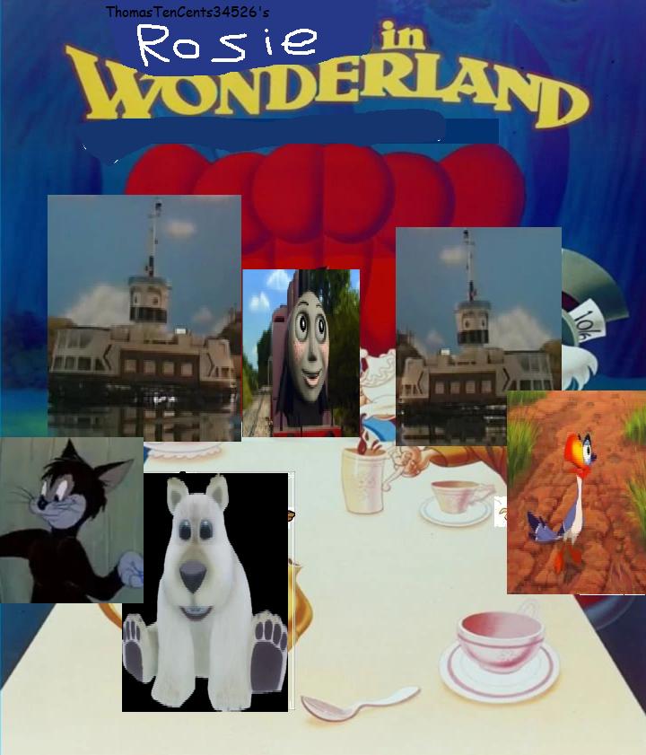 Rosie in Wonderland (ThomasTenCents34526's Style)