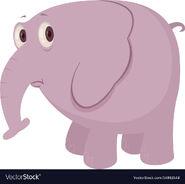 Cartoon-sad-elephant-vector-14863548