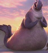 Flynn the Elephant Seal