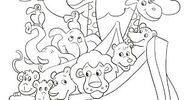 Noah's Ark Giraffes Lions Monkeys Vultures Toucans Parrots Macaws Chimpanzees Elephants Parakeets Birds and Bears