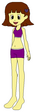 Sarah Spacebot's Swimsuit