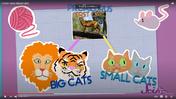 SciShow Kids Lion Tiger Cats Proailurus Mouse