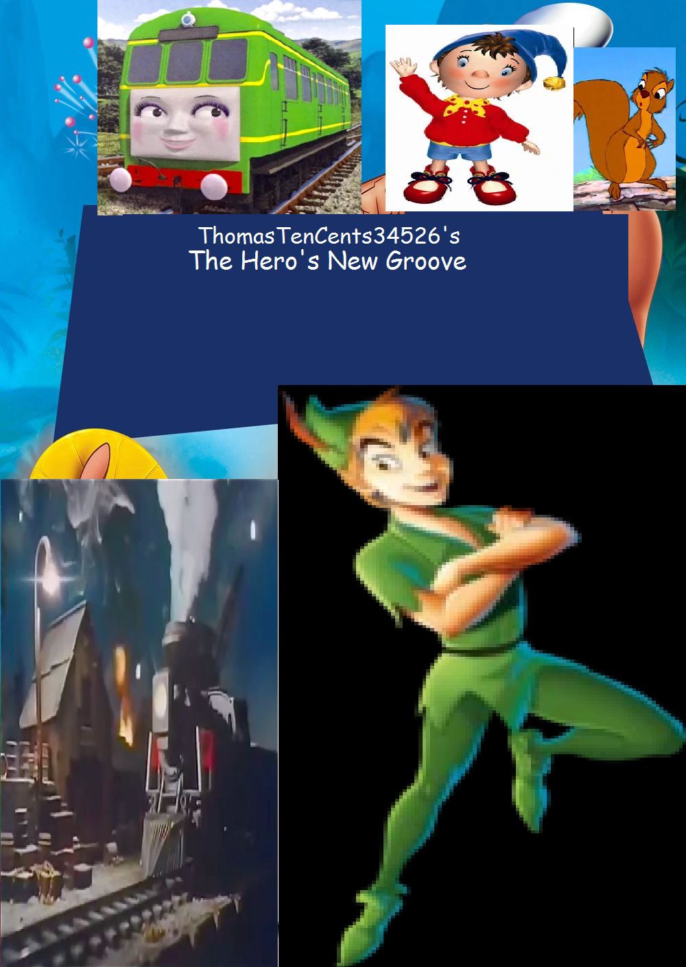 The Hero's New Groove (ThomasTenCents34526's Style)