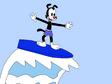 Yakko Warner Surfing