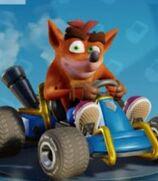 Crash Bandicoot in Crash Team Racing- Nitro-Fueled