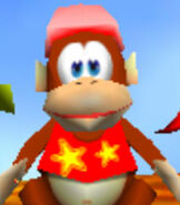 Diddy Kong in Diddy Kong Racing