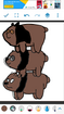 Grizz, Panda, and Ice Bear as Cave Bears