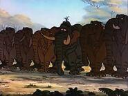 Jungle Patrol in The Jungle Book (1967)