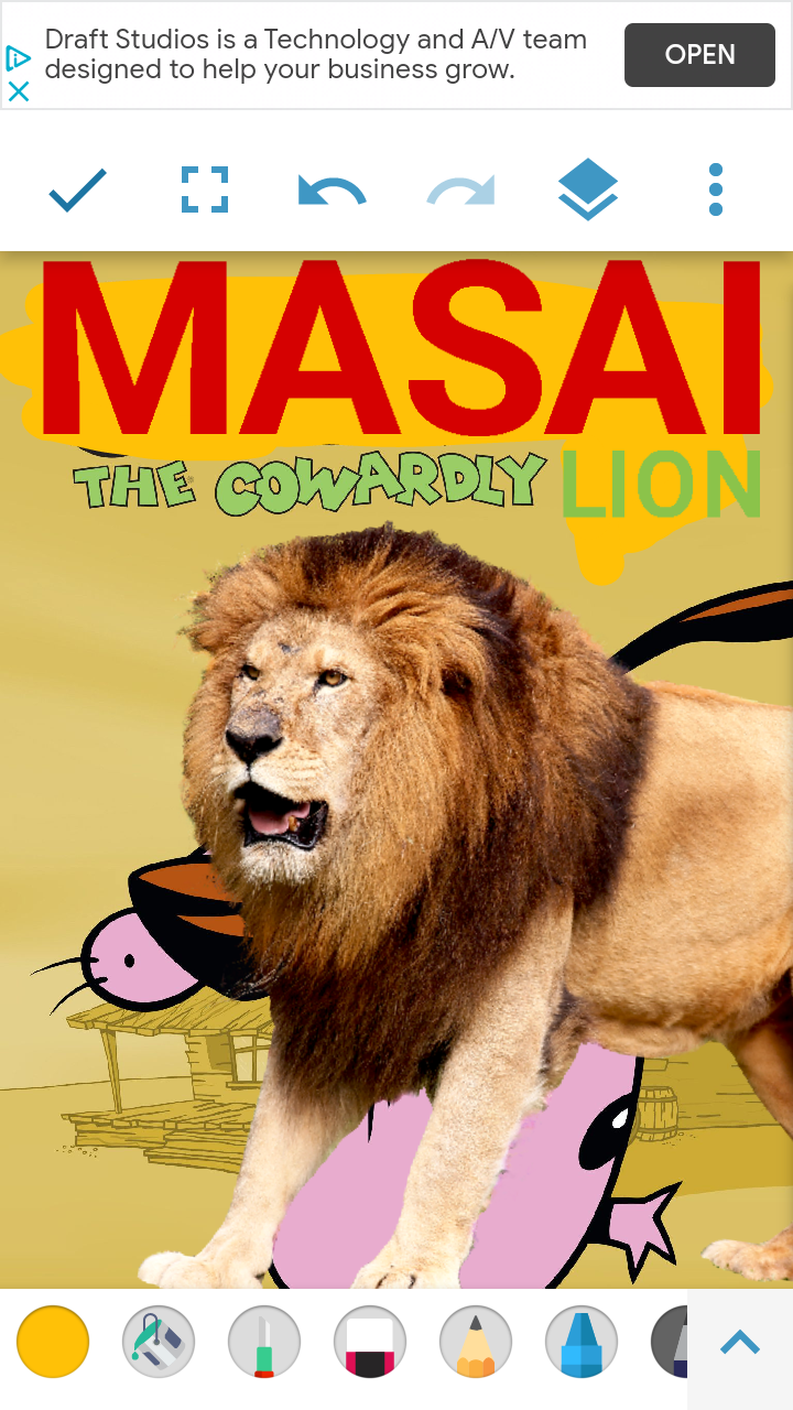 Masai the Cowardly Lion