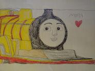 Molly the yellow tender engine by hamiltonhannah18 de69dsc-fullview