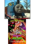 Thomas the Tank Engine Hates Martians vs Mexicans