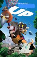 Up (2009; TheWildAnimal13 Animal Style) Poster