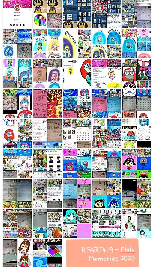 RFART419's Pixiv Memories collage - February 29, 2020