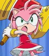 Amy Rose in Sonic X