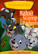 Baloo, Scamp and Bagheera Poster