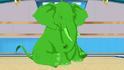 Beast Boy as an Elephant