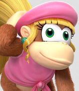 Dixie Kong in Donkey Kong Country- Tropical Freeze