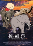 Free Willy 2- The Adventure Home (NR1GLA Style) Poster