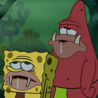 Primitive SpongeBob and Primitive Patrick