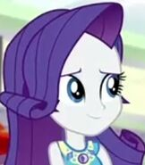 Rarity in My Little Pony Equestria Girls - Rollercoaster of Friendship