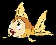 Soleil Spacebot goldfish form findingnemo in thespacebotsadventuresseries