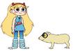 Star Meets Slender Loris
