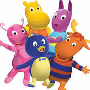 The Backyardigans as Peter Griffin