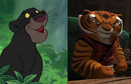 Bagheera and Tigress