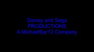 Disney and Sega Productions Logo 4