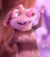 Eddie in Ice Age Collision Course