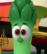 Junior Asparagus in VeggieTales in the City