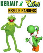 Kermit & Yoshi Rescue Rangers